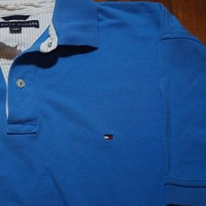 Mens Tommy Hilfiger SS Polo Golf Shirt Size L